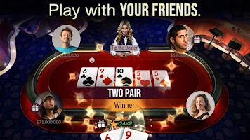 Screenshot of Zynga Poker – Texas Holdem