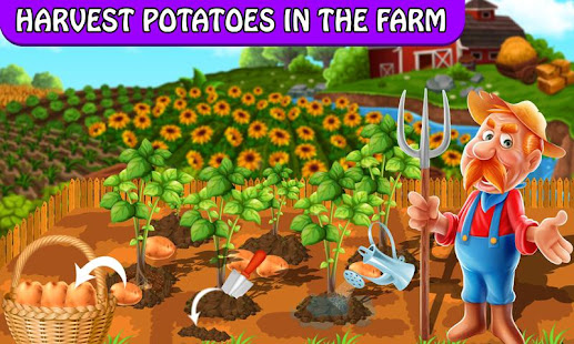 Game Crispy Potato Chips Maker Factory – Snacks Making APK for Windows Phone
