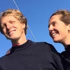 Cédric et Justine participent à la Course des deux châteaux 2015 au profit de L'Arche à Compiègne