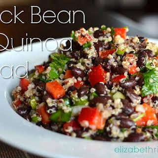Superfood Black Bean & Quinoa Salad.