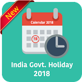 Govt. Holiday India 2018 - Public Holiday Calendar