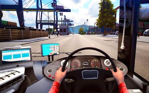 City Coach Bus Driving Simulator 3D: City Bus Game 3