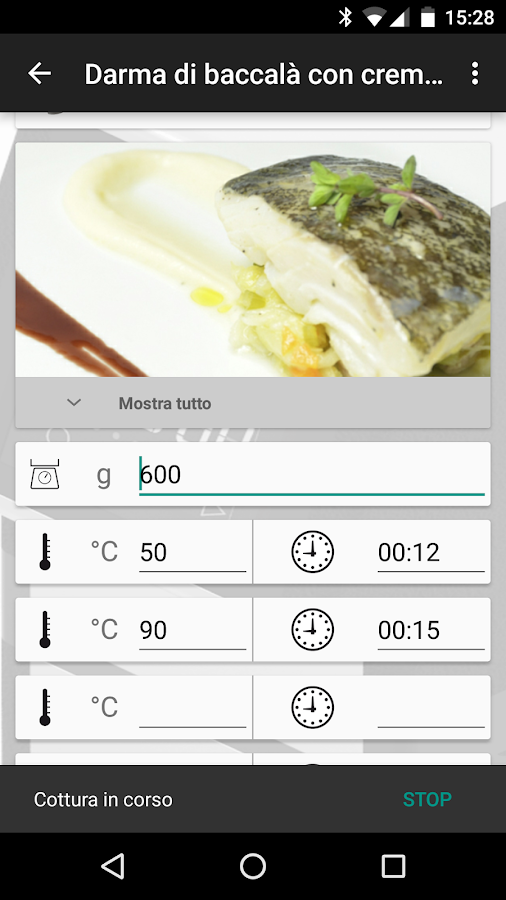 SoftCooker Wi-Food- screenshot