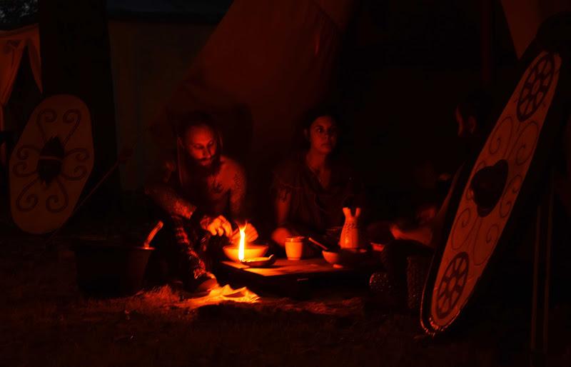 Cena a lume di lucerna di paolo_battilani
