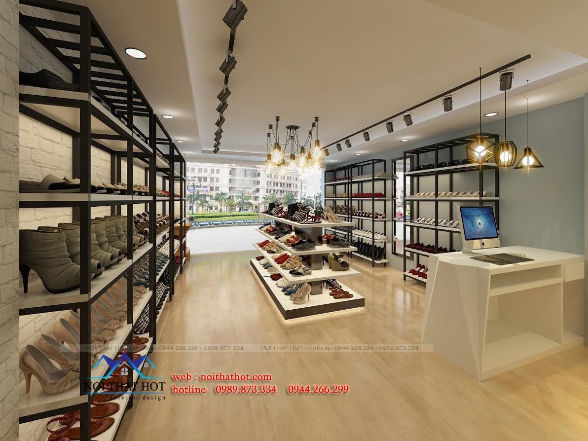 thiết kế shop giày dép tại hà nội