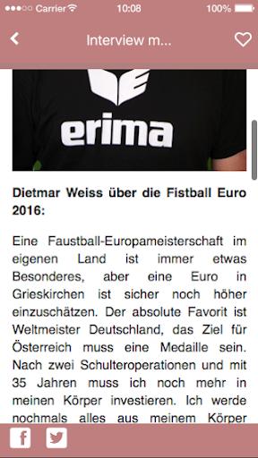免費下載運動APP|Fistball Euro 2016 app開箱文|APP開箱王