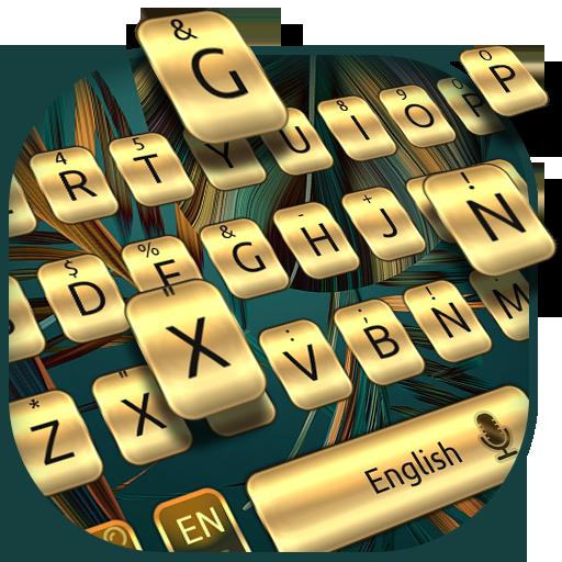 Gold Keyboard For Huawei Mate 10