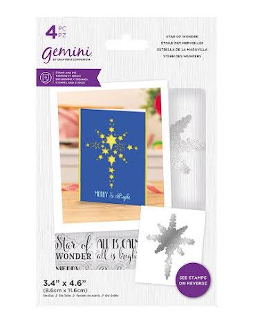 Gemini Stamp & Die - Star of Wonder