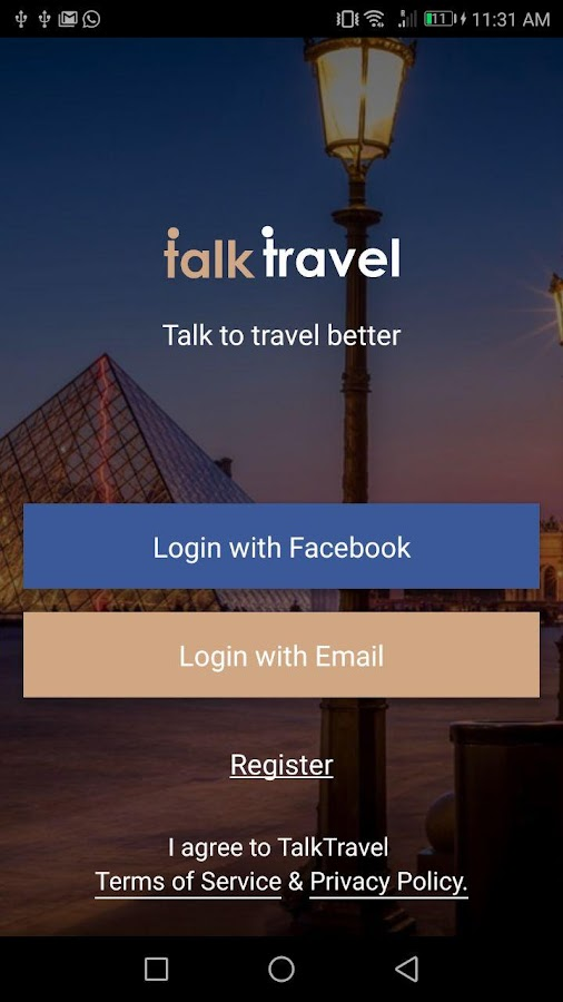 TalkTravel- screenshot