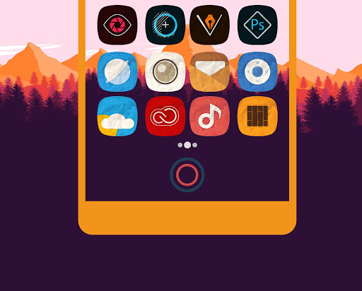 (APK) تحميل لالروبوت / PC Rugos Premium - Icon Pack تطبيقات screenshot