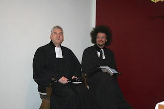 Photo: GD mit Gastprediger Jaroslav F. Pechar aus Prag - 23.3.2014 - 2014-03-23.jpg