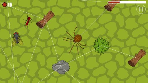 SpiderLand - Spider Web Simulator  captures d'u00e9cran 2