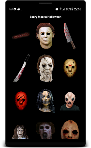 Scary Masks Photo Editor Halloween Horror image 1