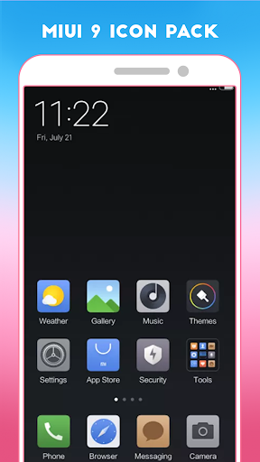 Download Miui 9 icon pack - Lighting flash Pro Google Play softwares