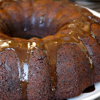 Gluten-Free Chocolate Olive Oil Bundt Cake.