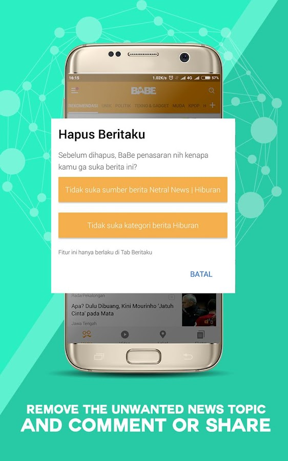 BaBe - Baca Berita- screenshot
