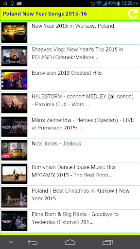 Poland New Year Songs 2015