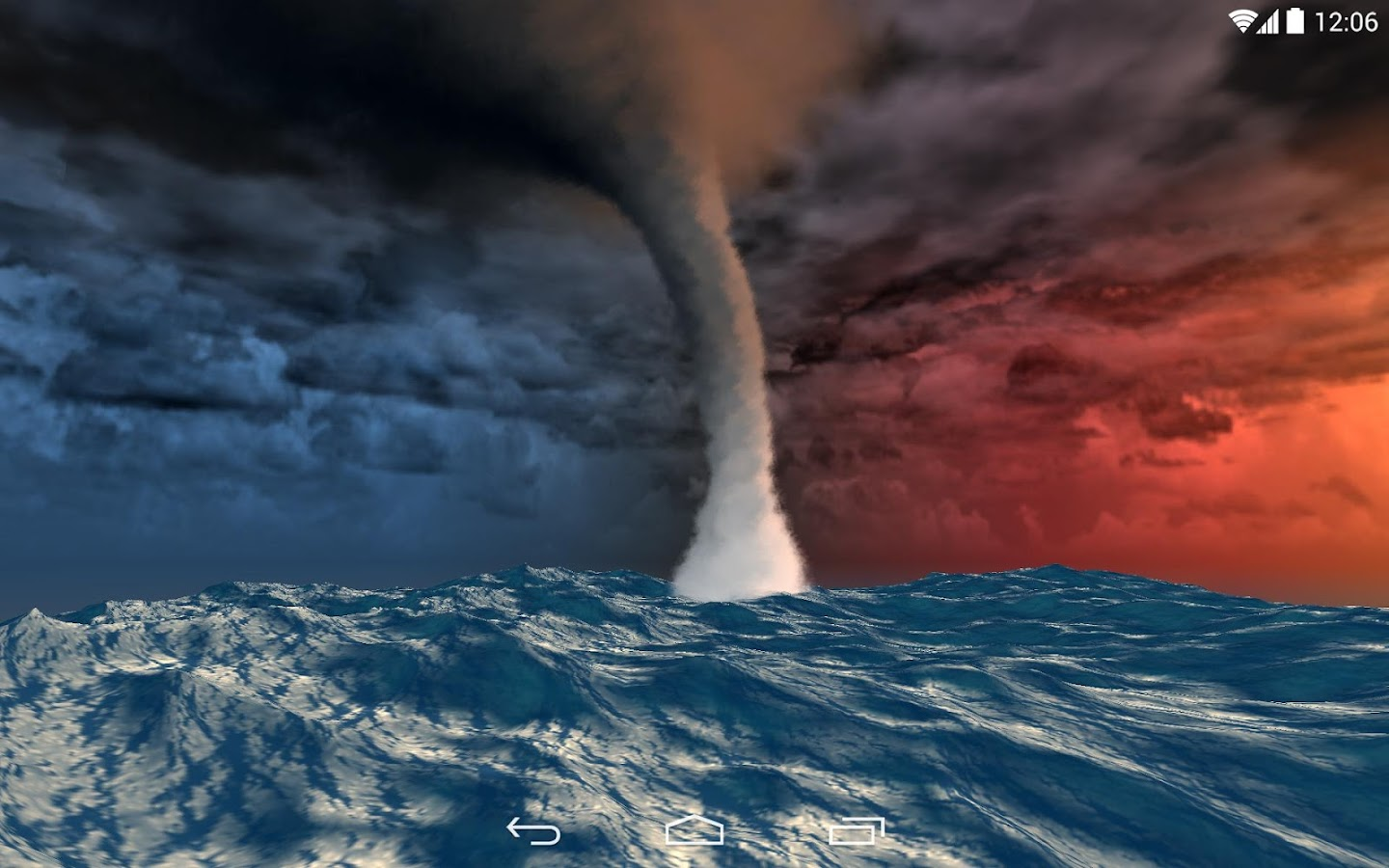 Sea Storm 3D LWP- screenshot