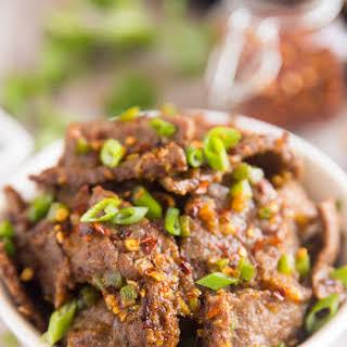 Easy Hunan Beef.