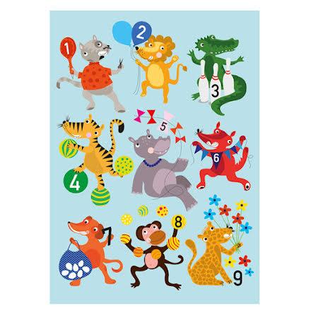 Poster - 123 djur