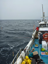 Photo: 今年も沖縄からお越し頂きました! 「ウキ流し釣り」を堪能して下さいね!