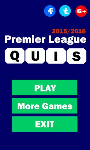 Football Quiz 2015-2016