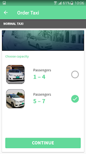 Ajman Taxi- screenshot thumbnail