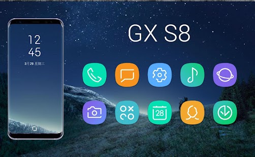 GX S8 Icon Pack Screenshot