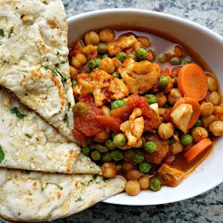 Vegetable Chana Masala.