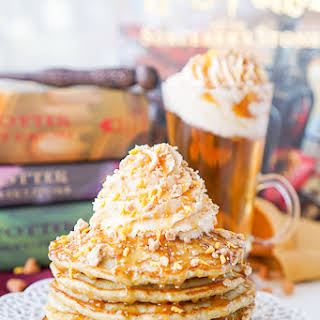 Harry Potter Butterbeer Pancakes.