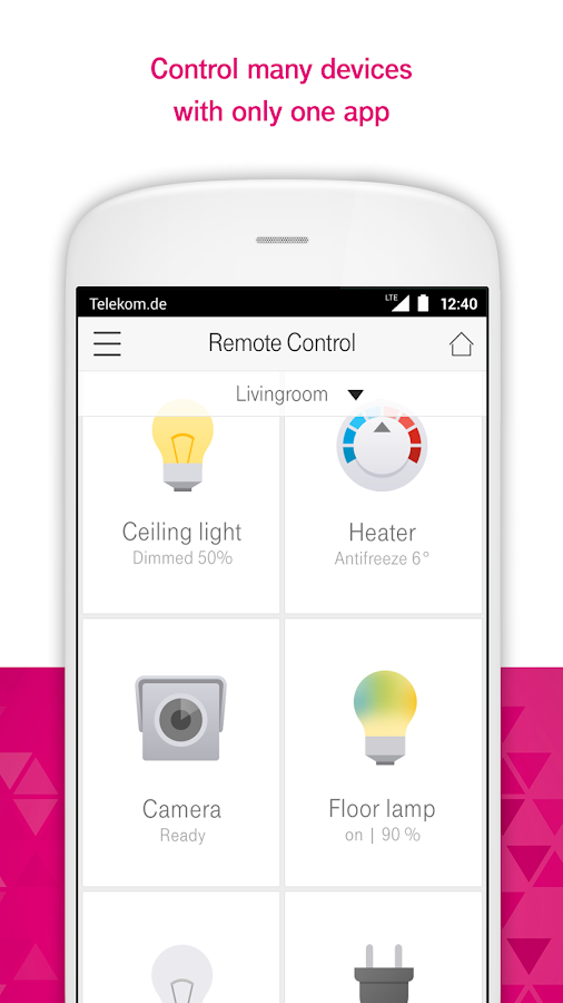 Magenta smarthome android apps on google play for Rearrange my living room app