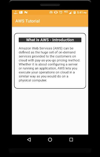 Amazon Web Service Tutorials - AWS Tutorials - AWS 1.2 screenshots 2