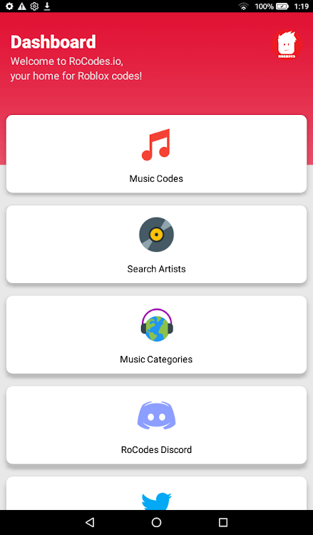 Rocodes Roblox Music Game Codes Android Apps Appagg