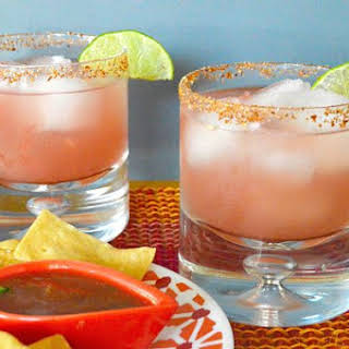 Amped up Watermelon Margarita.