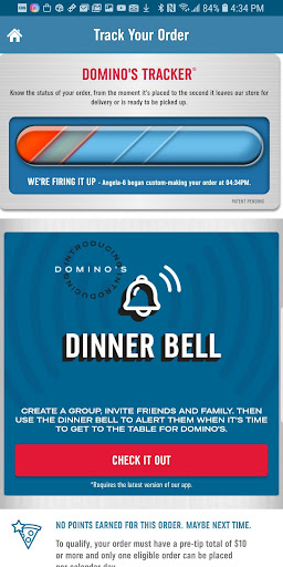Screenshot for Domino's Pizza USA in United States Play Store