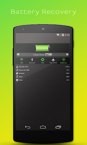 android Battery Recovery Master Screenshot 1