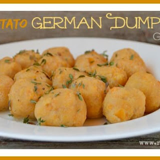 Sweet Potato German Dumplings (gluten free)