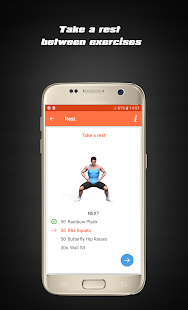 Home Workouts - Fit Challenge - náhled