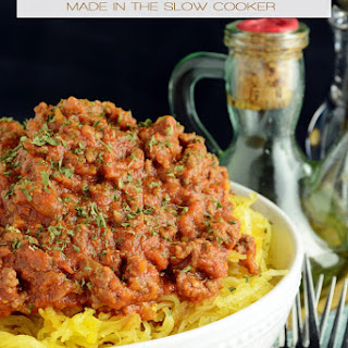 Skinny Slow Cooker Bolognese