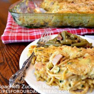 Chicken Spaghetti with Zucchini