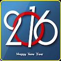 Wish New Year Lock Screen icon