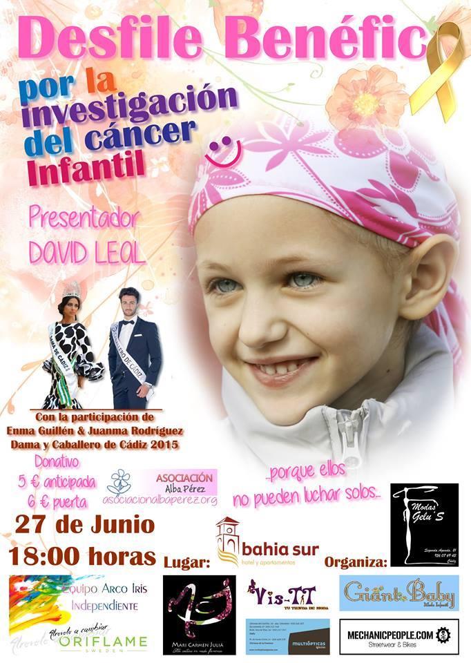 Desfile Benéfico por la investigación del cáncer infantil