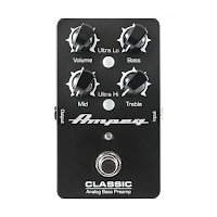 Ampeg Classic Bass Preamp, fotpedal