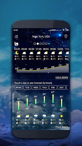 Weather map screenshot 3