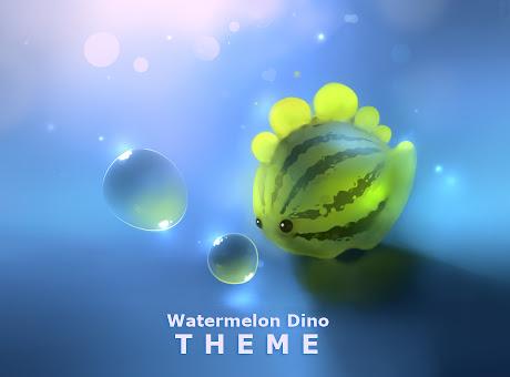 watermelon dino