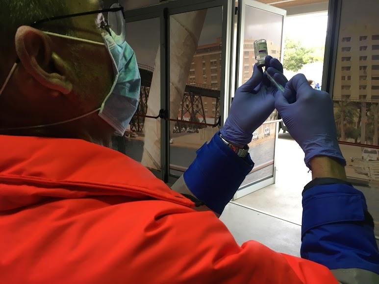 Todos los funcionarios del CNP son menores de 55 años, edad máxima estipulada para que reciban la vacuna de AstraZeneca.