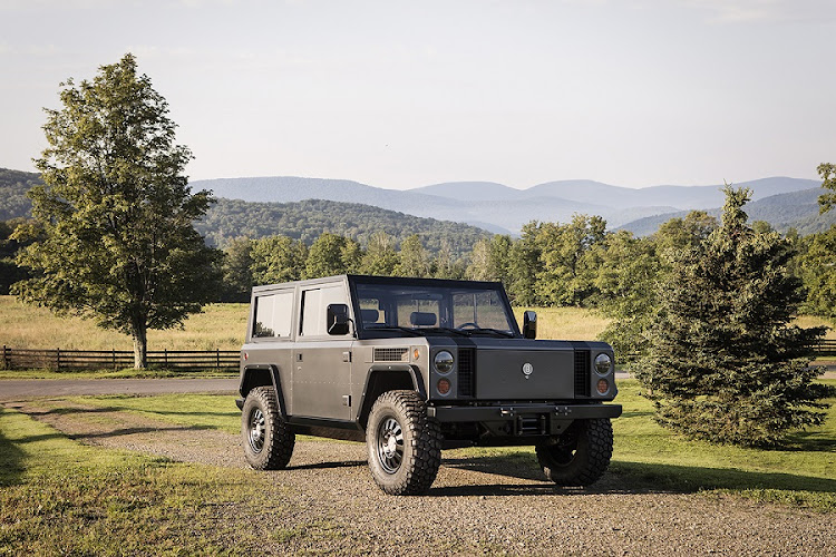 Bollinger Motors has launched the world's first full electric SUV. Picture: NEWSPRESS USA