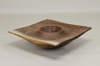 "Photo: Mike Colella 8"" x 3"" square box [walnut] from Jimmy Clewes Workshop"