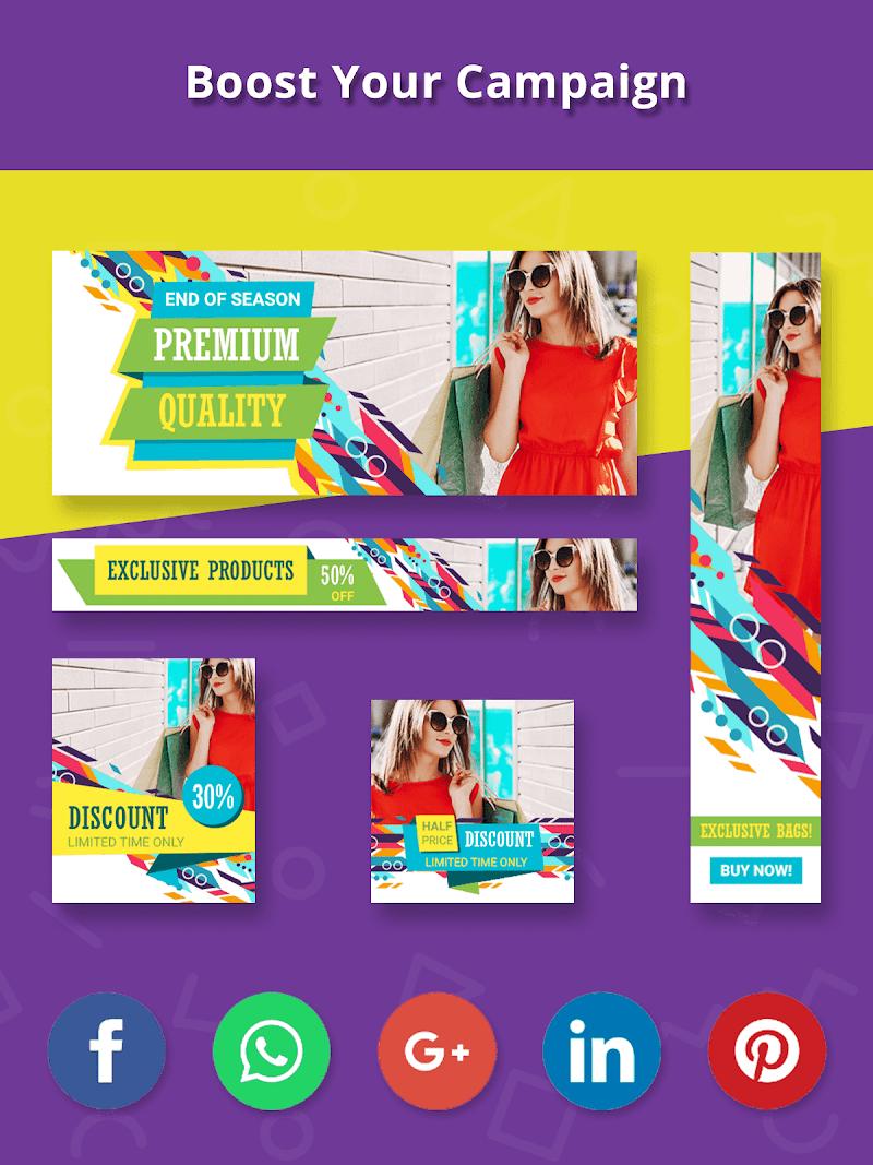 Banner Maker, Ad Maker, Web Banners, Graphic Art Screenshot 15
