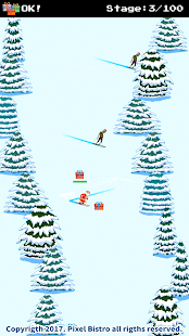 Santa Ski vs Zombies Ski - náhled